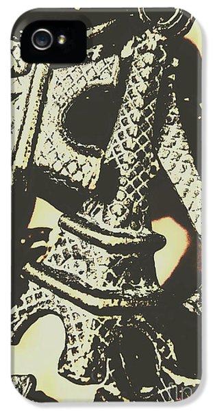 Pendant iPhone 5 Case - Mementos Of Paris France by Jorgo Photography - Wall Art Gallery