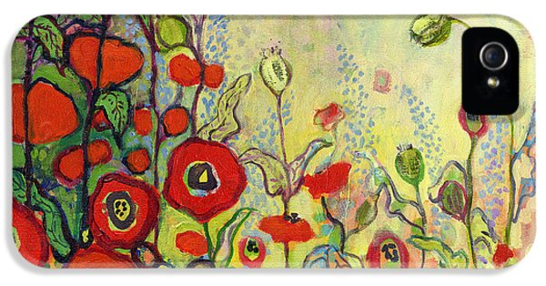 Impressionism iPhone 5 Case - Memories Of Grandmother's Garden by Jennifer Lommers