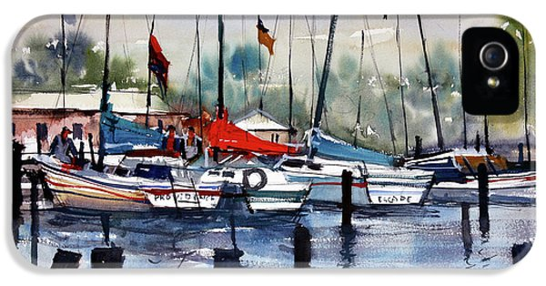 Menominee Marina IPhone 5 Case