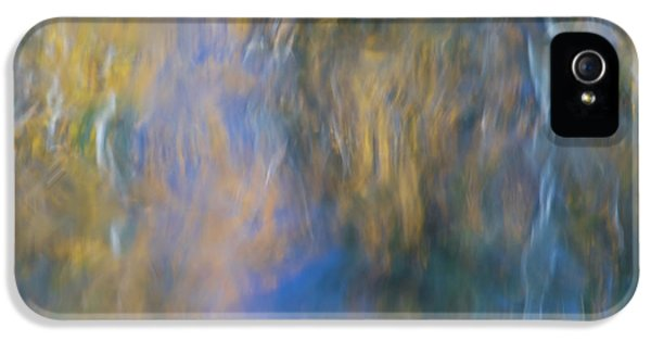 Merced River Reflections 15 IPhone 5 Case by Larry Marshall