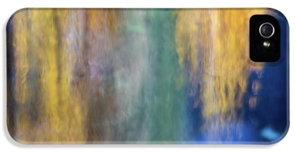 Merced River Reflections 17 IPhone 5 Case by Larry Marshall