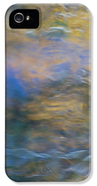 Merced River Reflections 18 IPhone 5 Case by Larry Marshall