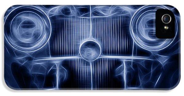 Mercedes Roadster IPhone 5 Case by Tom Mc Nemar