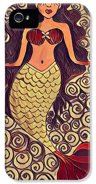 iPhone 5 Case - Mermaid Dreams by K Daniel