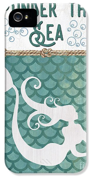 Mermaid Waves 2 IPhone 5 Case