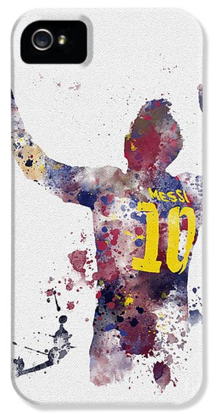 Messi IPhone 5 Case by Rebecca Jenkins
