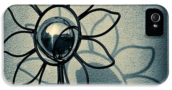 Metal Flower IPhone 5 Case by Dave Bowman
