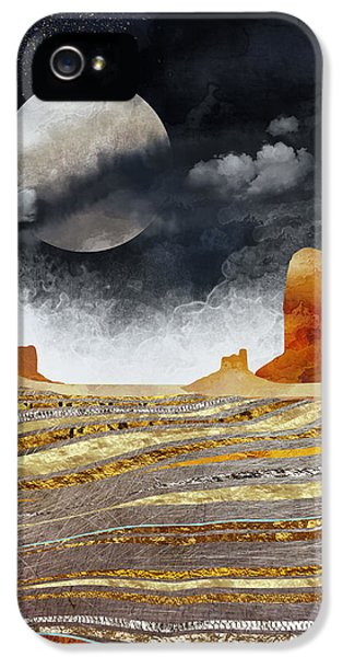 Landscapes iPhone 5 Case - Metallic Desert by Spacefrog Designs