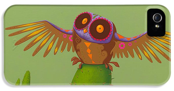 Mexican Owl IPhone 5 Case
