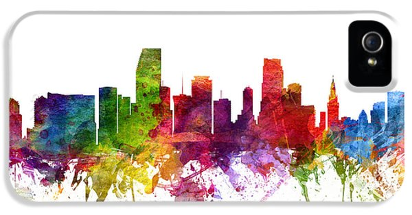 Miami Cityscape 06 IPhone 5 / 5s Case by Aged Pixel