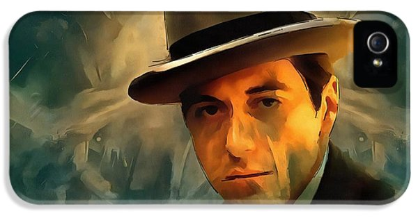 Michael Corleone IPhone 5 / 5s Case by Dan Sproul