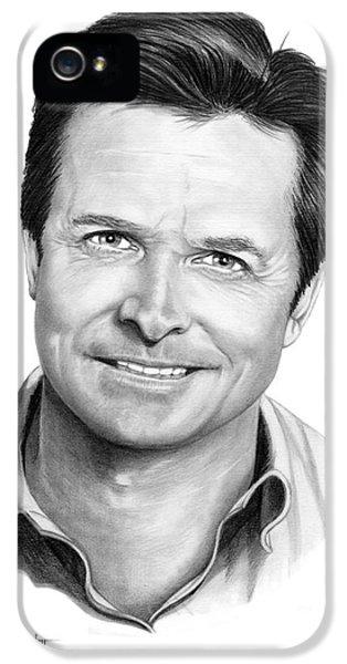 Michael J. Fox IPhone 5 Case