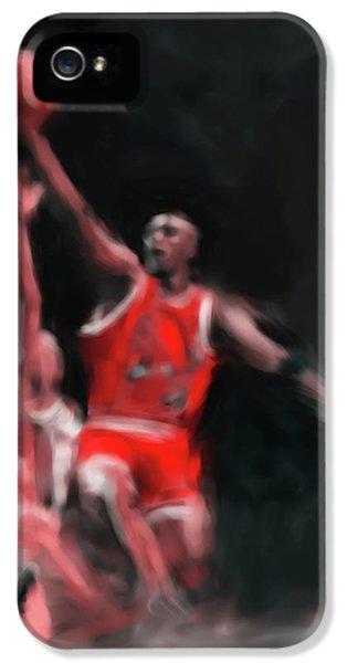 Michael Jordan 548 3 IPhone 5 Case by Mawra Tahreem