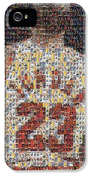 Michael Jordan Card Mosaic 2 IPhone 5 Case