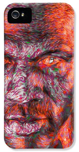 Michael Jordan Digital Painting 2 IPhone 5 Case