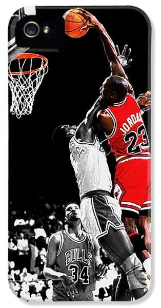 Michael Jordan Power Slam IPhone 5 Case