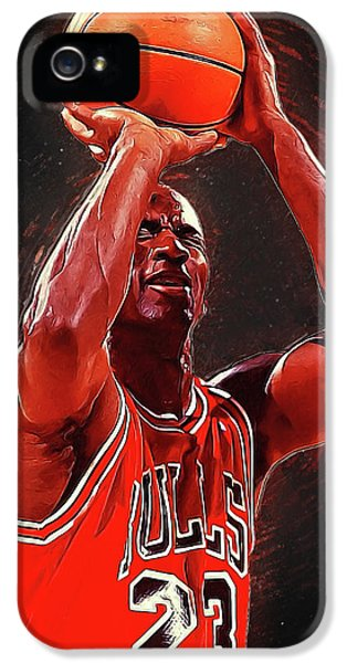 Michael Jordan IPhone 5 Case