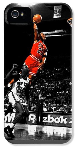 Michael Jordan Suspended In Air IPhone 5 Case