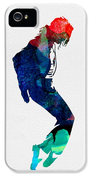 Michael Watercolor IPhone 5 Case by Naxart Studio