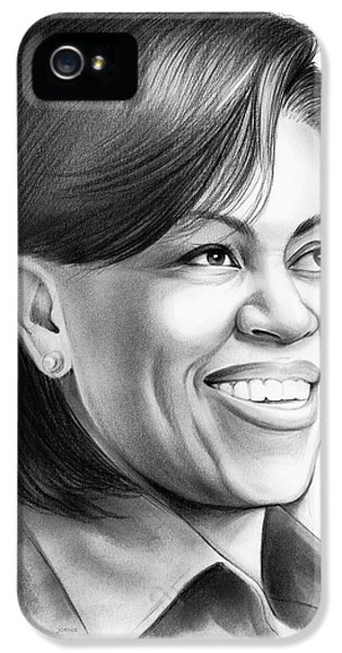 Michelle Obama IPhone 5 Case