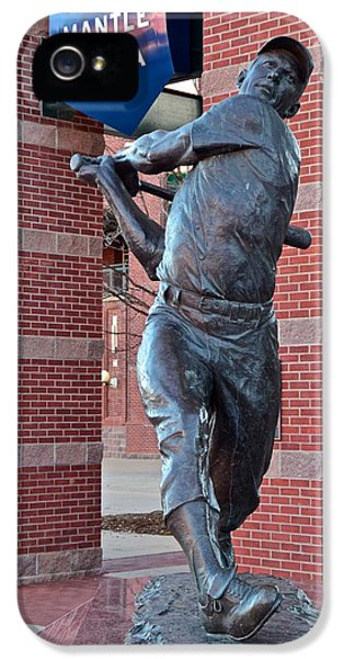 Mickey Mantle Plaza IPhone 5 Case