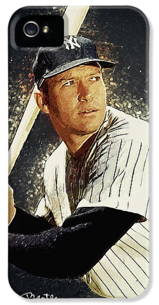 Mickey Mantle IPhone 5 Case