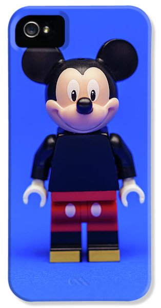 Mice iPhone 5 Case - Mickey Mouse by Samuel Whitton