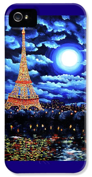 Midnight In Paris IPhone 5 / 5s Case by Laura Iverson