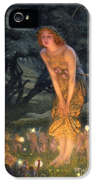 Midsummer Eve IPhone 5 Case by Edward Robert Hughes