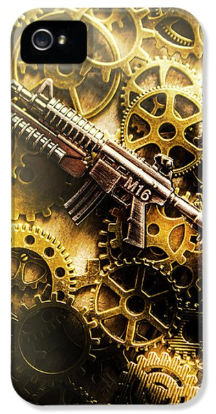 Military Mechanics IPhone 5 Case by Jorgo Photography - Wall Art Gallery