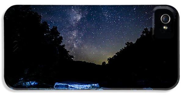 Milky Way Over Baptizing Hole IPhone 5 Case