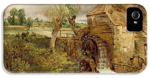 Dorset iPhone 5 Case - Mill At Gillingham - Dorset by John Constable