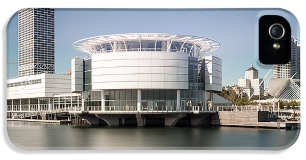 Milwaukee Skyline With Discovery World Picture IPhone 5 Case by Paul Velgos