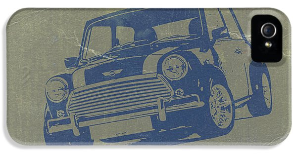 Mini Cooper IPhone 5 Case by Naxart Studio