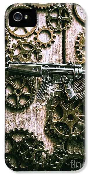 Miniature Mp5 Submachine Gun IPhone 5 Case by Jorgo Photography - Wall Art Gallery