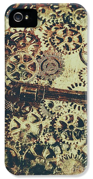Miniature Old Western Pistol IPhone 5 Case