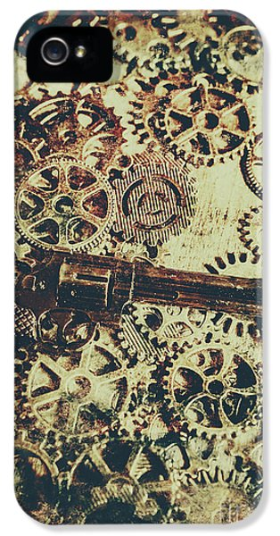 Miniature Old Western Pistol IPhone 5 Case by Jorgo Photography - Wall Art Gallery