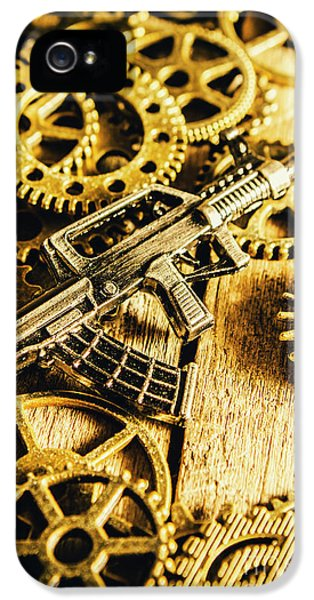 Miniature Qbz-95 Automatic Rifle IPhone 5 Case by Jorgo Photography - Wall Art Gallery