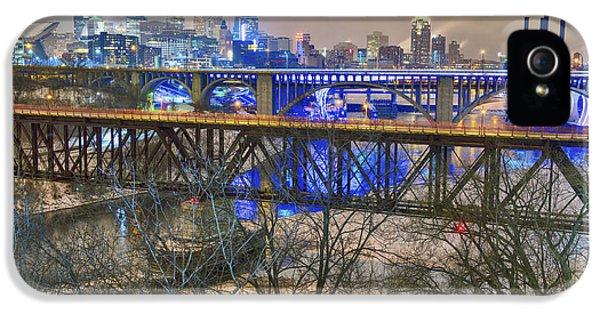 Minneapolis Bridges IPhone 5 Case by Craig Voth