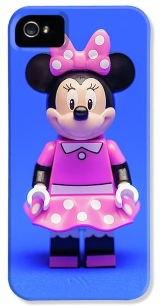 Mice iPhone 5 Case - Minnie Mouse by Samuel Whitton
