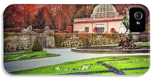 Mirabell Gardens Salzburg  IPhone 5 Case