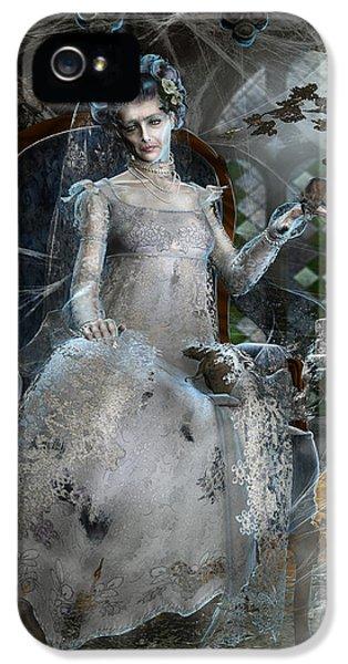 Miss. Havisham IPhone 5 Case by Mary Hood