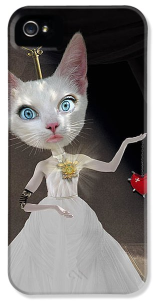 Miss Kitty IPhone 5 Case by Juli Scalzi