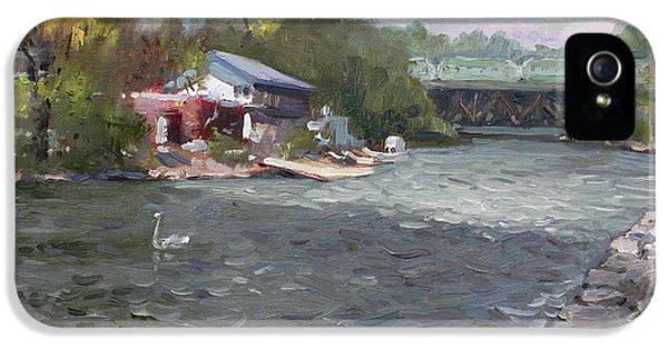 Mississauga Canoe Club IPhone 5 Case by Ylli Haruni
