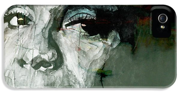 Rhythm And Blues iPhone 5 Case - Mississippi Goddam by Paul Lovering