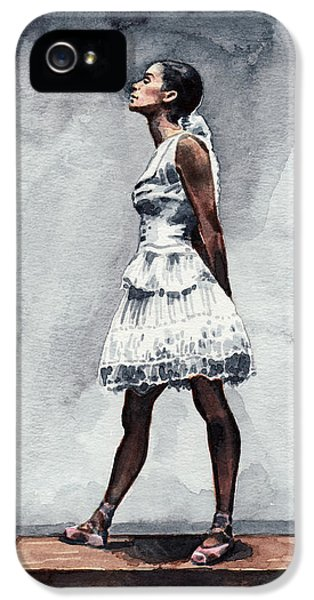 Misty Copeland Ballerina As The Little Dancer IPhone 5 Case