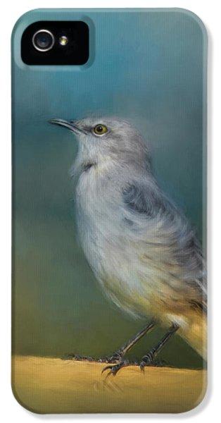 Mockingbird On A Windy Day IPhone 5 Case