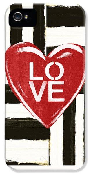 Modern Love- Art By Linda Woods IPhone 5 Case