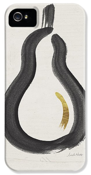 Fruits iPhone 5 Case - Modern Pear- Art By Linda Woods by Linda Woods