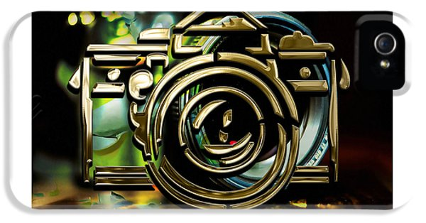 Moment Maker Camera Collection IPhone 5 Case by Marvin Blaine